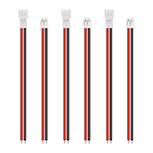 3 Sets Tiny Whoop JST-PH 2.0 Pin Male Female Connector Cable for Upgrading Blade Inductrix