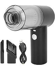 Aspiradora, USB Recargable Car Aspirador 1500Mah Batería 6000Pa Succión de Potencia Fuerte Ligero con Taza de 0.1L para Pelo de Mascotas para Limpieza Interior del automóvil
