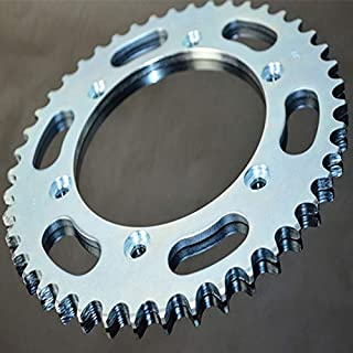 YSMOTO CNC 50T Pignon arri/ère de cha/îne pour Suzuki TSR125 TSR200 DR250 DR350 DR-Z250 DR-Z400E DR-Z400S DR-Z400SM RM125 RM250 RMX250 RMX450Z RM-Z250 RM-Z450 RS175 Dor/é