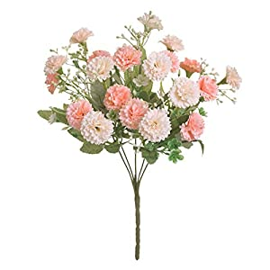 TRRT Fake Plants Artificial Silk Flower Small Lilac Bouquet, Wedding Decoration Home Party Window Decoration Garden Decoration Flower Fake Flower