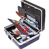 Sicutool Koffer mit Werkzeugen für TECHNISCHE E E ASSISTENZA, Sortiment von hochwertigen Werkzeugen Orig. GEDORE Witte, Marvel, Frowein und SCU Bestehend aus: 63 Werkzeug.