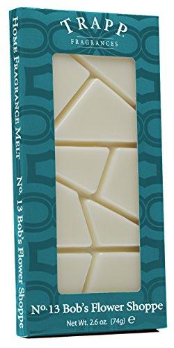 TRAPP Home Fragrance Melt, No. 13 Bob's Flower Shoppe, Cream, 2.6-Ounce