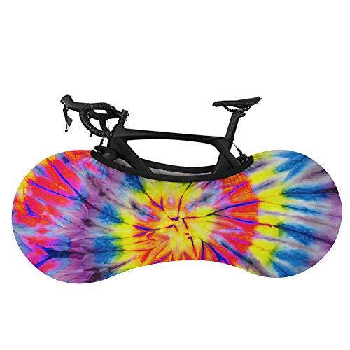 Cubierta para rueda de bicicleta de montaña, cubierta de almacenamiento para rueda de bicicleta, cubierta antipolvo, antisuciedad, para bicicleta de montaña, cubierta elástica de protección para coche Feather-Ca5286F1
