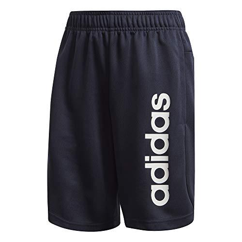 adidas Jungen Jungen Shorts Linear Kn, Legink/White, 164, EI7930