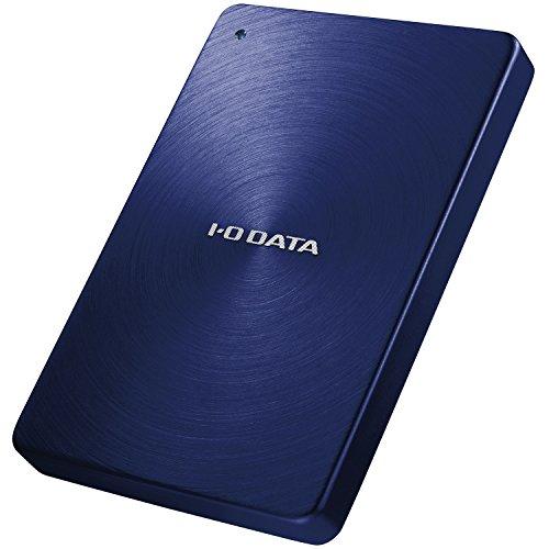I-O DATA ポータブルハードディスク「カクうす」 USB 3.0/2.0対応 1.0TB ブルー HDPX-UTA1.0B