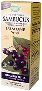 Natures Way Sambucus Syrup Immune