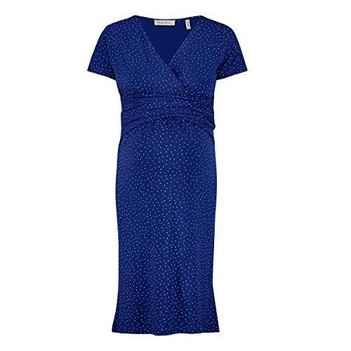 Queen mum Dress Jersey Nurs SS Shanghai Robe, Bleu (Sodalite Blue P073), 36 (Taille Fabricant: X-Small) Femme