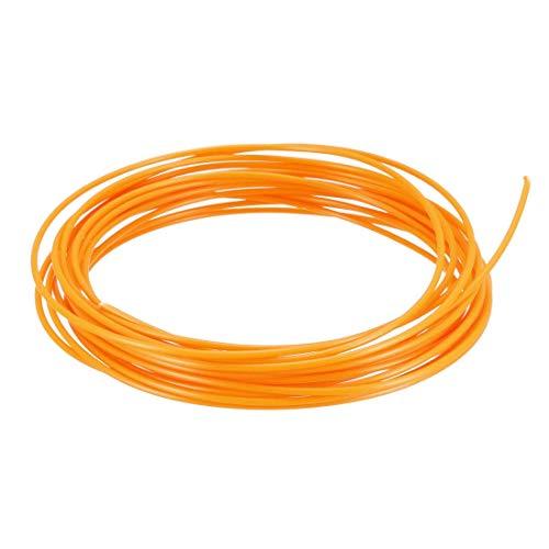 Recambio de filamento para bolígrafo 3D, 16 pies, recambios de filamento PCL 1,75 mm, precisión dimensional +/- 0,02 mm, para impresora 3D, color naranja