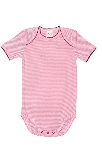 Body manches courtes bébé rose/geringelt Taille 62/68 Bio