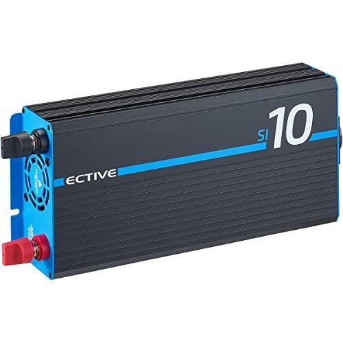 ECTIVE 1000W 12V zu 230V Sinus-Wechselrichter SI 10 mit reiner Sinuswelle in 7 Varianten