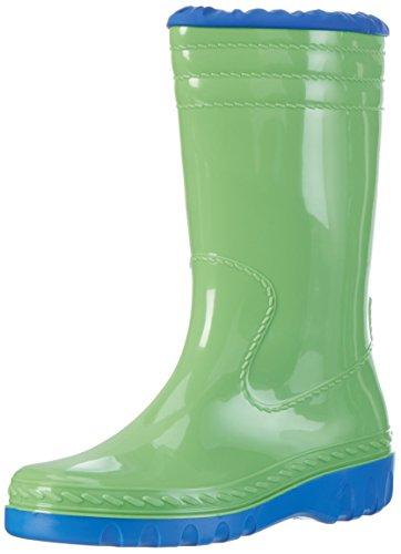 Romika Unisex-Erwachsene Jupiter Langschaft Gummistiefel, Grün (Lime-Blau 646), 40 EU