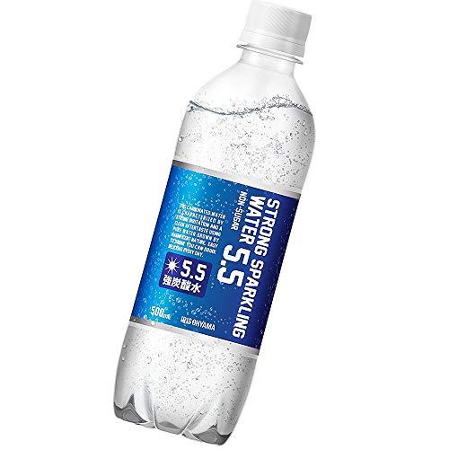 アイリスオーヤマ 炭酸水 ストロング 5.5 プレーン 強炭酸水 500ml ×24本
