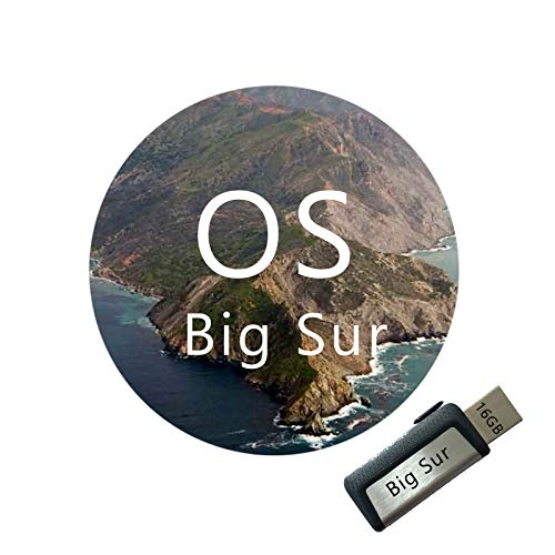 MAC macOS X Big Sur 11.1 Version Recovery Bootable MAC USB Installer Flash Drive for MAC OS Reinstall System