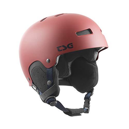TSG Gravity Solid Color Ski-/Snowhelm, Erwachsene, Unisex, Dark Red, S/M (54 – 56 cm)