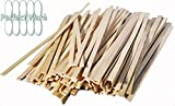 5.5' Wooden Coffee Stirrers- Box of 1,000ct