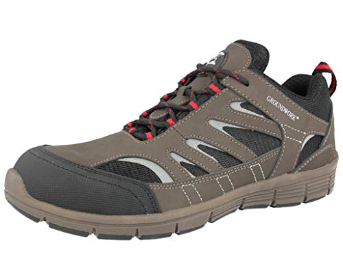 GR95 - Botas de acero para mujer, talla 33-8, color, talla 41 EU