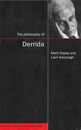 Compare Textbook Prices for Philosophy of Derrida Continental European Philosophy Paperback Volume 9 1 Edition ISBN 9780773532359 by Mark Dooley,Liam Kavanagh