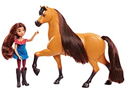 Ideal size for little hands and collectability Collect all three Doll and Horse Sets: Lucky and Spirit, Abigail and Boomerang, and Prudence and Chica Linda Each set sold separately Ages 3+