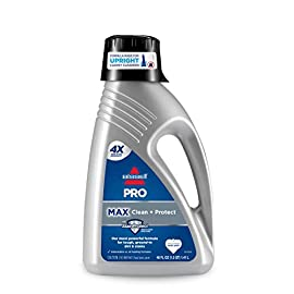 Bissell 78H63 Deep Clean Pro 4X Deep Cleaning Concentrated Carpet Shampoo, 48 ounces - Silver 6 Every BISSELL purchase helps save pets. BISSELL proudly supports BISSELL Pet Foundation and its mission to help save homeless pets. Our most powerful formula for tough, ground-in dirt and stains. Removes tough odors.