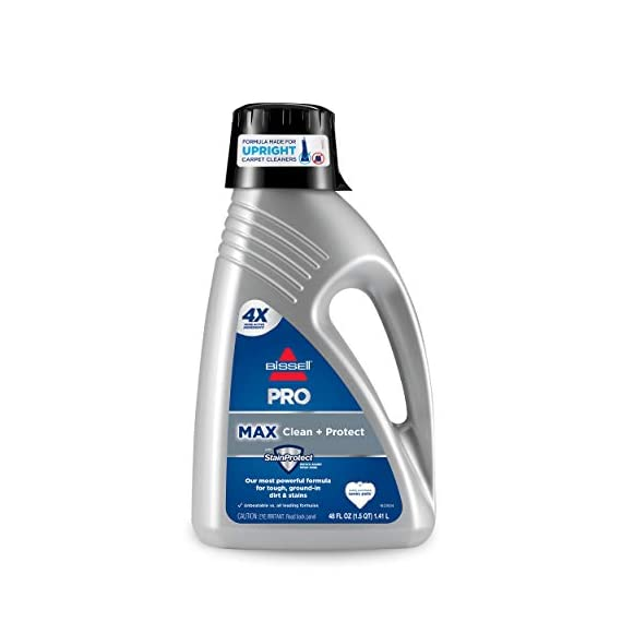 Bissell 78H63 Deep Clean Pro 4X Deep Cleaning Concentrated Carpet Shampoo, 48 ounces - Silver 1 Every BISSELL purchase helps save pets. BISSELL proudly supports BISSELL Pet Foundation and its mission to help save homeless pets. Our most powerful formula for tough, ground-in dirt and stains. Removes tough odors.