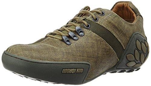 Woodland Men's Khaki Trecking Shoes - 6 UK/India (40 EU)