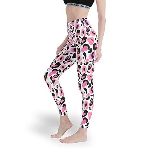 Mädchen Kunst Leggings Weich Gedruckt Yoga Hosen Dünn Capris Tights für Sport White m