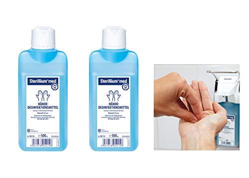 2 Flaschen Bode Sterillium® med 500 ml Desinfektion Handdesinfektion Sterillium Hygiene