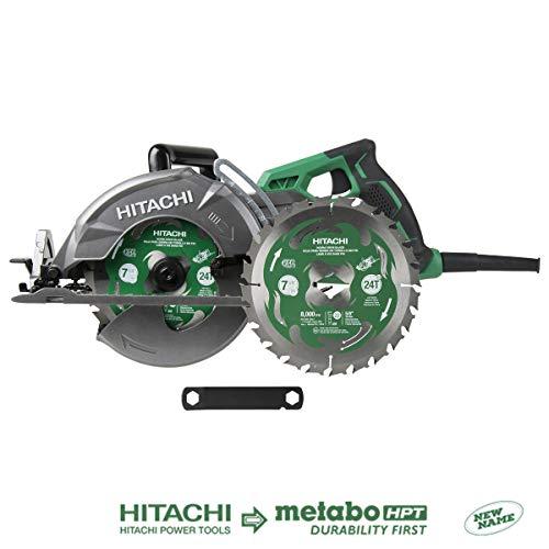 Hitachi C7WDM 7 1/4' 15-Amp Worm Drive Circular Saw
