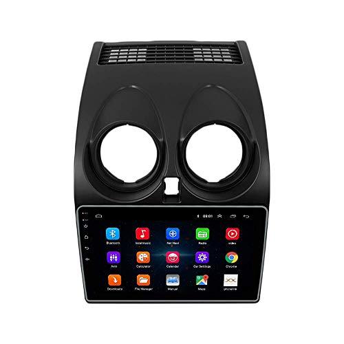 JIBO por Qashqai 2008-2015 Android 10 Auto Radio Multimedia Jugador GPS Navegación IPS 2.5D Toque Pantalla Nav Sat Cabeza Unidad SWC Posterior Ver Cámara Vídeo Receptor