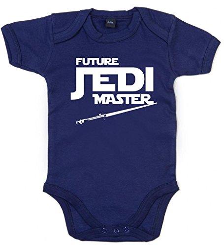 Image Vêtements bébé, Future Jedi Master, Body Bébé garçon, 0-3m, Bleu Foncé