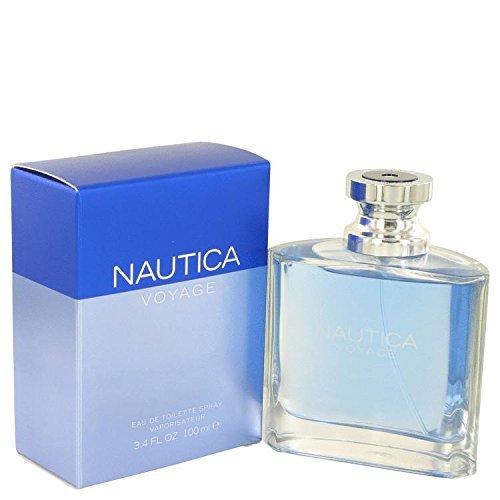 Nautica Voyage by Nautica Eau de Toilette Spray for Men, 3.4 Ounce