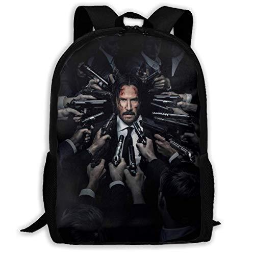 John Wi Adult Travel Bapa Fits 15.6 Inch Laptop Bapas School College Bag Casual Rusa for Men & Women