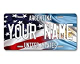 BRGiftShop Personalized Mixed USA and...