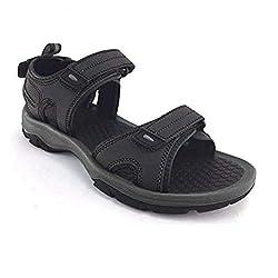 top rated Khombu Barracuda Men's Sports Sandals, Black, Size 11 M, USA 2021