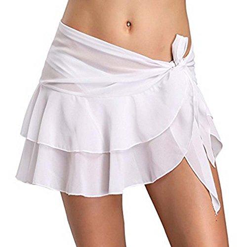 Traje de baño de mujer Abrigo Vestido Falda Traje de baño Chifón Bu