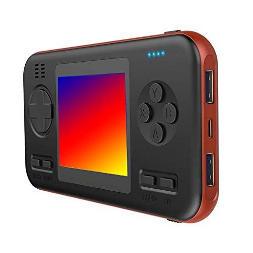 Wanshop Handheld Spielkonsole,Portable Spielkonsole Game Screen Spielekonsole, Handheld Mini Game Console Retro Mini Family TV Games Maschinen Toys (A)