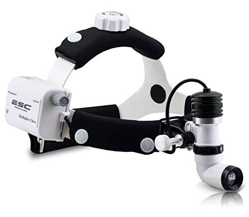 ESC Medicams Surgical Headlight Dental Headlamp Wireless Portable Cold LED Light Source Ent Endoscopy 10W