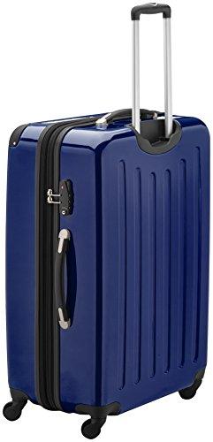 HAUPTSTADTKOFFER - Alex - Valise à coque dure Bleu foncé Brillant, TSA, 75 cm, 119 litres
