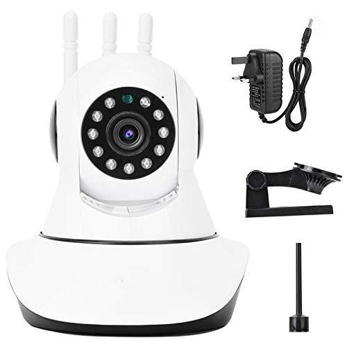 Cámara de infrarrojos Monitorización de 24 horas Cámara de monitorización IP para cualquier escena Adecuada para conversaciones de vídeo remotas(British regulatory, 1080P)