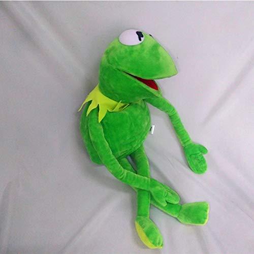 LIANGFF Barrio Sésamo The Muppet Show 30cm Marionetas de Rana Kermit muñeco de Peluche Juguetes de Peluche Un Regalo de cumpleaños para su Hijo Marioneta de Mano