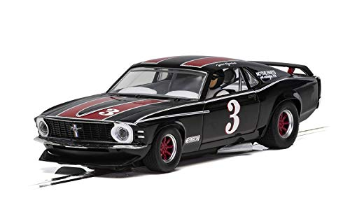 Scalextric Ford Mustang Trans AM 1972 John Gimbel 1:32 Slot Race Car C4014 (Scalextric Continental Sports Cars Best Price)