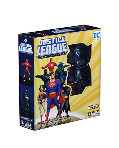 WizKids DC HeroClix Justice League Unlimited Starter Set
