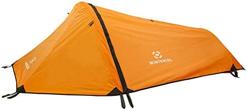 Winterial Single Person Personal Bivy Tent, 1 Person Tent Lightweight 2 Pounds 9 Ounces, Green