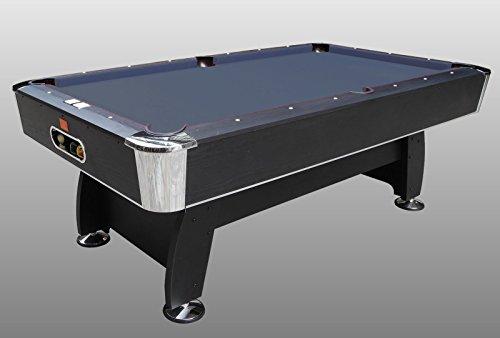 Tavolo da Biliardo Black Norman (Panno Nero) - Carambola - (216 cm x 123 cm x 82 cm) - Completo di Tutti Gli Accessori