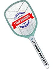 Weird Wolf Rechargeable Mosquito Racket Bat with USB Charging and 1 Year Warranty
