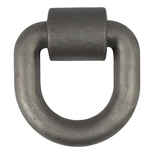 CURT 83770 âncora de amarração com anel em D de 12,7 x 12,7 cm, resistência à ruptura de 21,2 kg