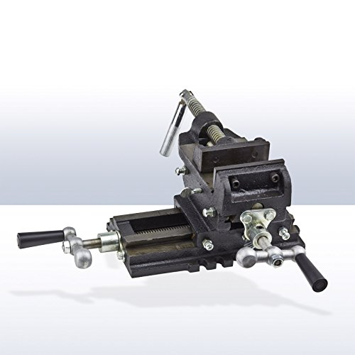 DEMA 2 Achsen Maschinenschraubstock 125