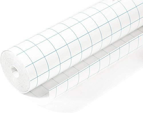 OFITURIA Rollo de Plastico Transparente Autoadhesivo Forralibros - Protector de Libros y Cuadernos Ajustable - 20m x 50cm