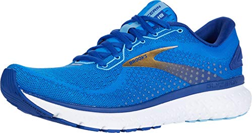 Brooks Men's Glycerin 18, Blue/Gold, 14 Medium