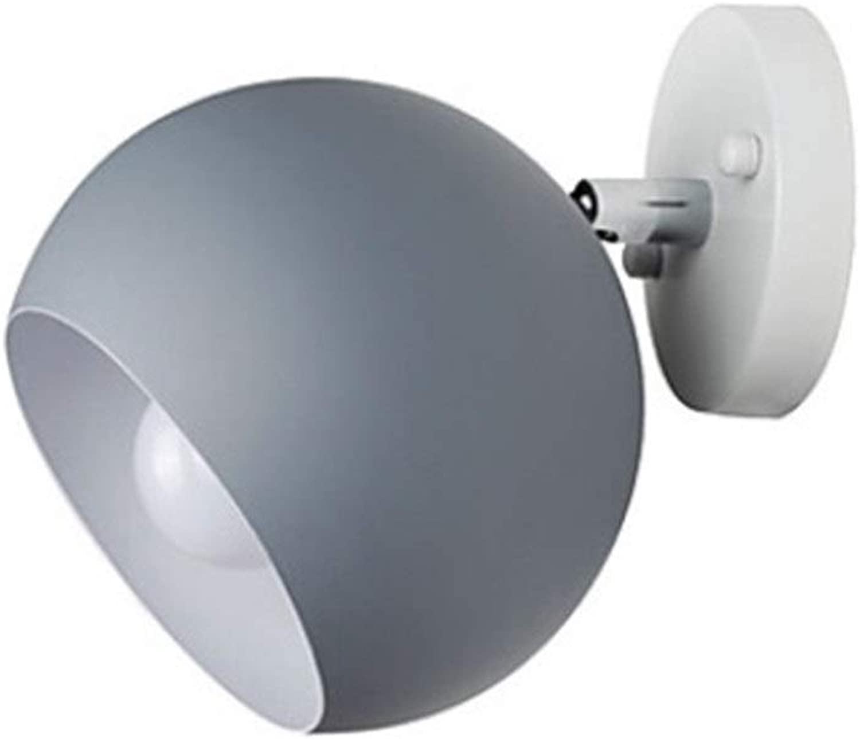 SCH Moderne zeitgenssische Wandleuchten & Wandlampen Schlafzimmer Arbeitszimmer Bürometallwandleuchte (Farbe   E)